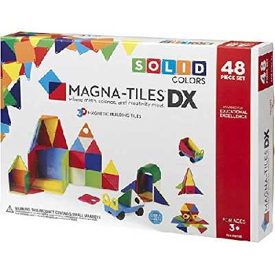 Magna-Tiles 48 Piece DX Set