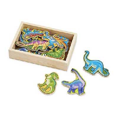Melissa & Doug - 10476 - 20 Aimants Dinosaures En Bois