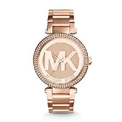 Michael Kors Femme Analogique Quartz Montre avec Bracelet en Acier Inoxydable MK5865