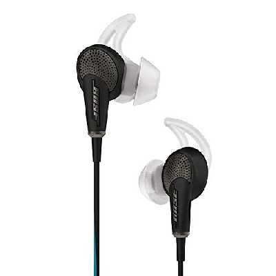 Bose QuietComfort 20 Écouteurs Intra-auriculaires à Réduction du Bruit- Android & Samsung - Noir