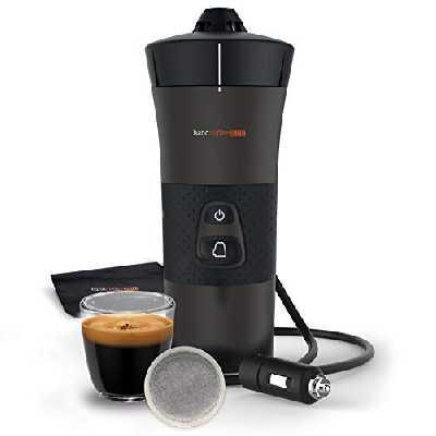 Handpresso - Ancien modèle Handcoffee Auto 48264 Machine café portable à dosette pour voiture 12V