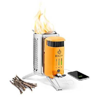 BioLite Campstove 2 Réchaud de Camping Mixte Adulte, Orange, m