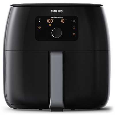 Philips HD9652/90 Airfryer XXL Noir – Bien plus qu'une friteuse : faites cuire, frire, rôtir, griller tous vos aliments