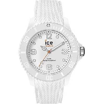 Ice-Watch - Ice Sixty Nine White - Montre Blanche pour Femme avec Bracelet en Silicone - 014577 (Small)