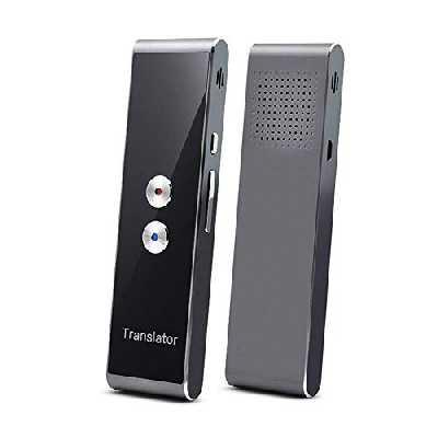 Usuny Translaty Muama Enence Smart Instantané Temps Réel Portable Tenu à la Main Voix Mutli Traduction Translator - Argent
