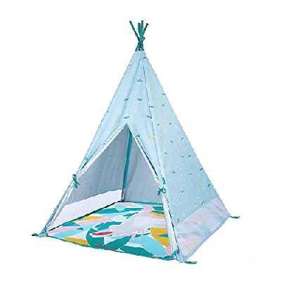 Badabulle Tipi Jungle Tente pour Enfant Anti-UV FPS 50+ Matelas Waterproof Évolutif