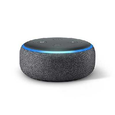 Echo Dot (3ème génération), Enceinte connectée avec Alexa, Tissu prune