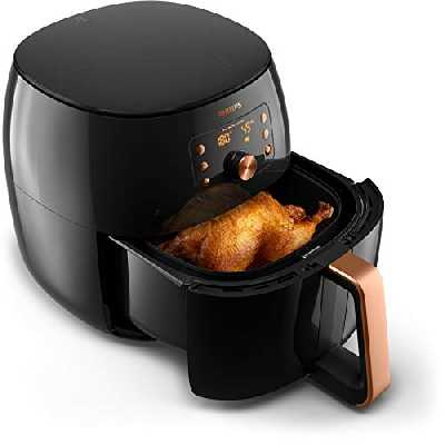 Philips HD9860/90 Airfryer XXL Premium - Bien plus qu'une friteuse : faites cuire, frire, rôtir, griller tous vos aliments