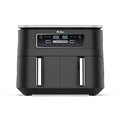 Ninja [AF300EU] Foodi Air Fryer, Plastique, 7.6 liters, Noir