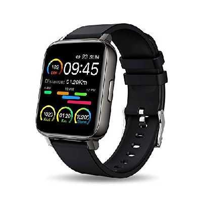 Montre Connectée Femmes Homme, Montre Intelligente Vibrante pour Appel Message, Sport Smartwatch Cardiofrequencemètre,Trackers d'Activité Podometre Calories Sommeil Chronometre pour iOS Android